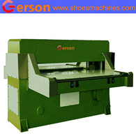 Foam hydraulic die cutting machine