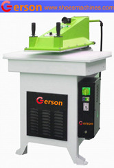 Swing arm clicking die press machine for play card