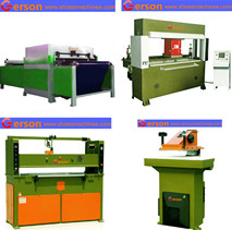 Football cutting machine-die cutting PU,PVC outer cover or Fabric inner lining