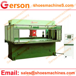 CNC Automatic feeding traveling head die cutting press machine