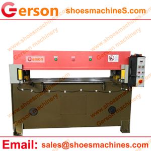 Rubber Pads Beam Cutting Press Machine