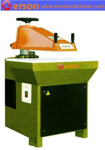 Hydraulic pliane plastic glove clicker press