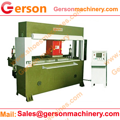 Sponge foam sheet hydraulic traveling head cutting machine for sale