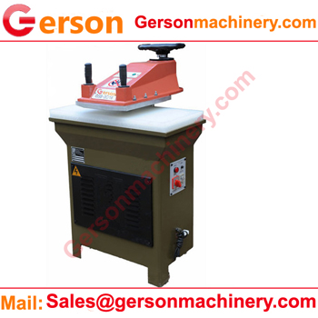 Synthetic PU Shoe upper cutting machine