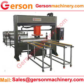 Manmade Natural Textile Fibres Fabrics Hydraulic Die Cutting Machine