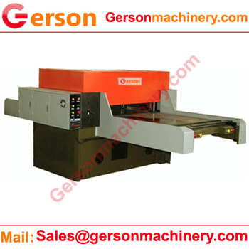 double sided automatic feed in hydraulic die cutting machine