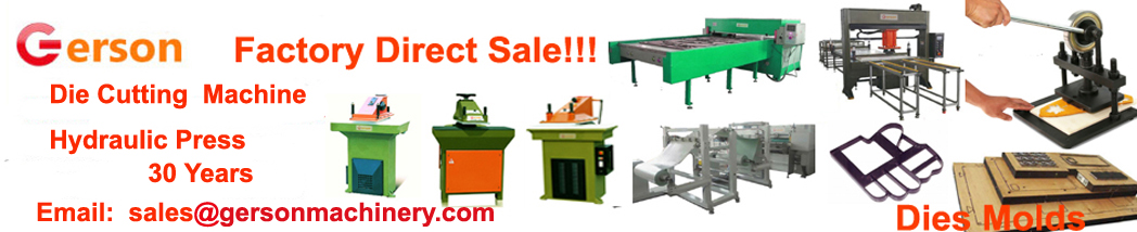 Gerson Machinery-die cutting machine ,hydraulic press