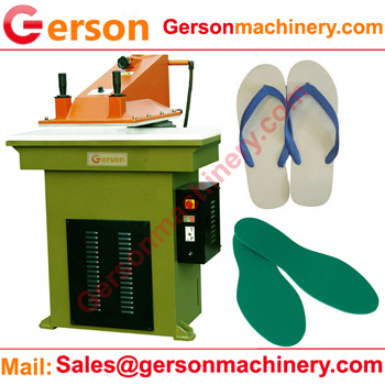 rubber foam slipper insole die cutting machine